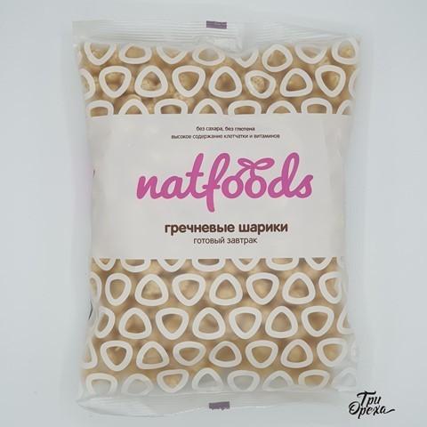 Готовый завтрак Гречневые шарики NATFOODS, 75 гр