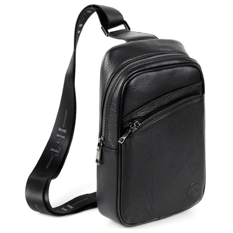 Мужская нагрудная сумка из кожи HT-071