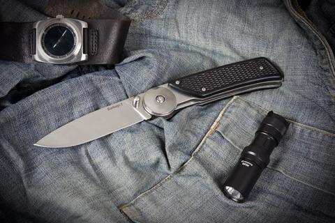 Складной нож Байкер-1 Полированный ABS