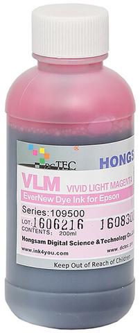 Чернила водные DCTec 7900D light vivid magenta dye  200мл. Серия 109500