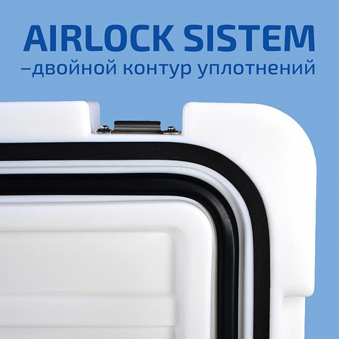 Изотермический контейнер Techniice Гарант 125L