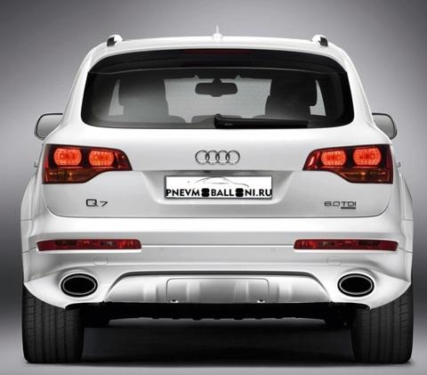 Audi Q7 2002-2010 Ремонт Задней Пневмоподвески
