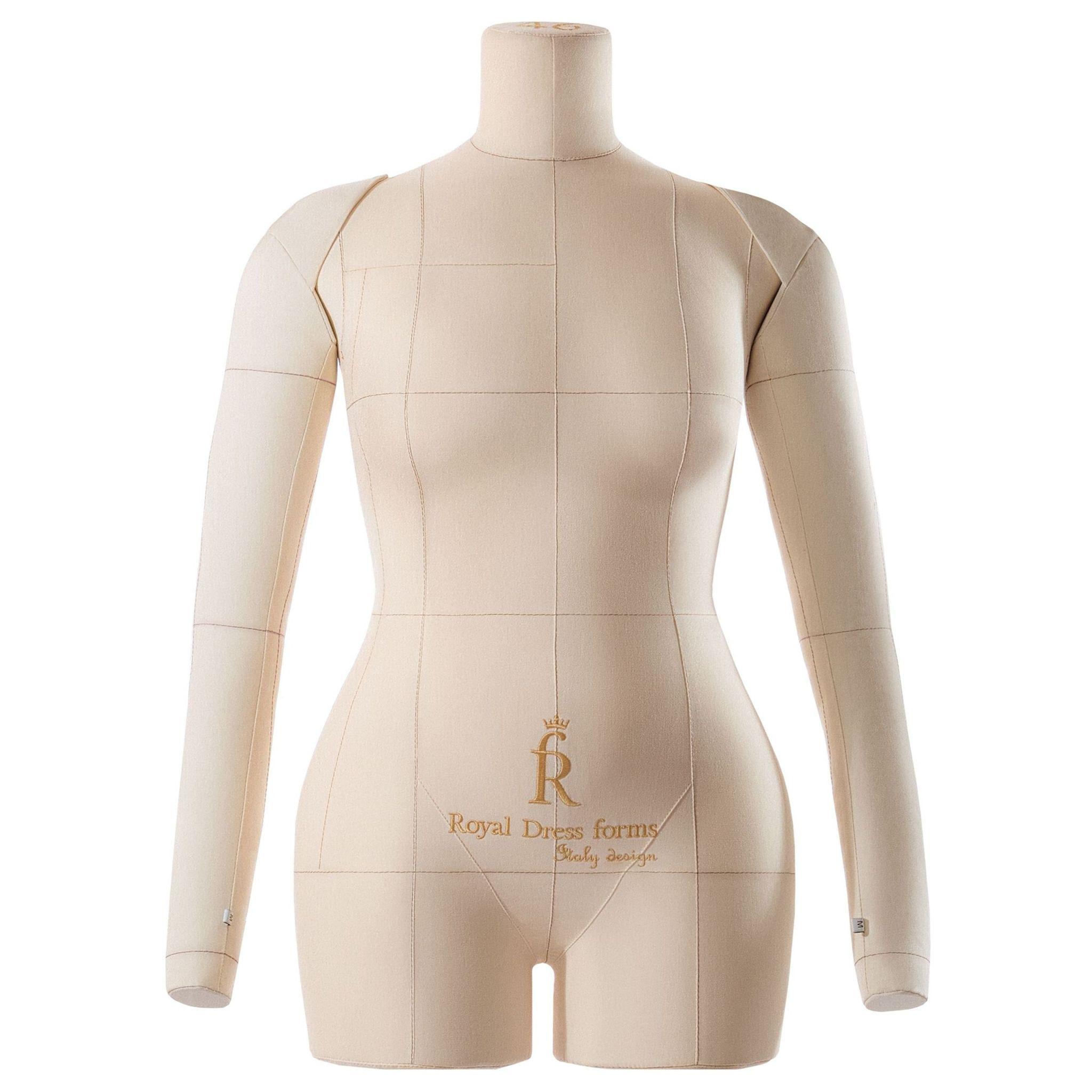 Комплект Comfort: мягкий манекен Monica бежевый 46 с подставкой, Ручки,Сумка-чехол