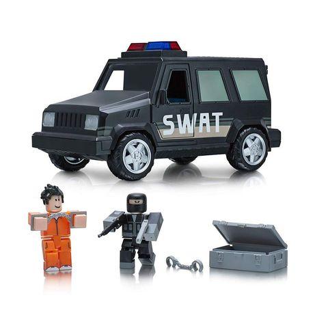Набор фигурок Роблокс Побег из тюрьмы с машиной - Roblox Prison Life, Jazwares