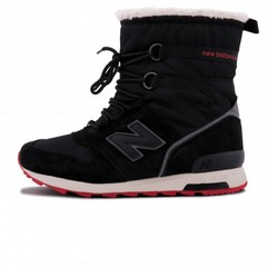 Зимние New Balance Winter Sport Dark Black With Fur