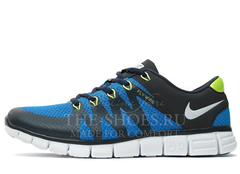Кроссовки Мужские Nike Free Run 5.0 FLYWIRE Blue White Green