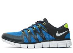 Кроссовки Мужские Nike Free Run 5.0 FLYWIRE Blue White Green