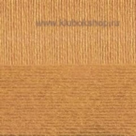 Пряжа Вискоза натуральная Пехорский текстиль Светлое золото 596
