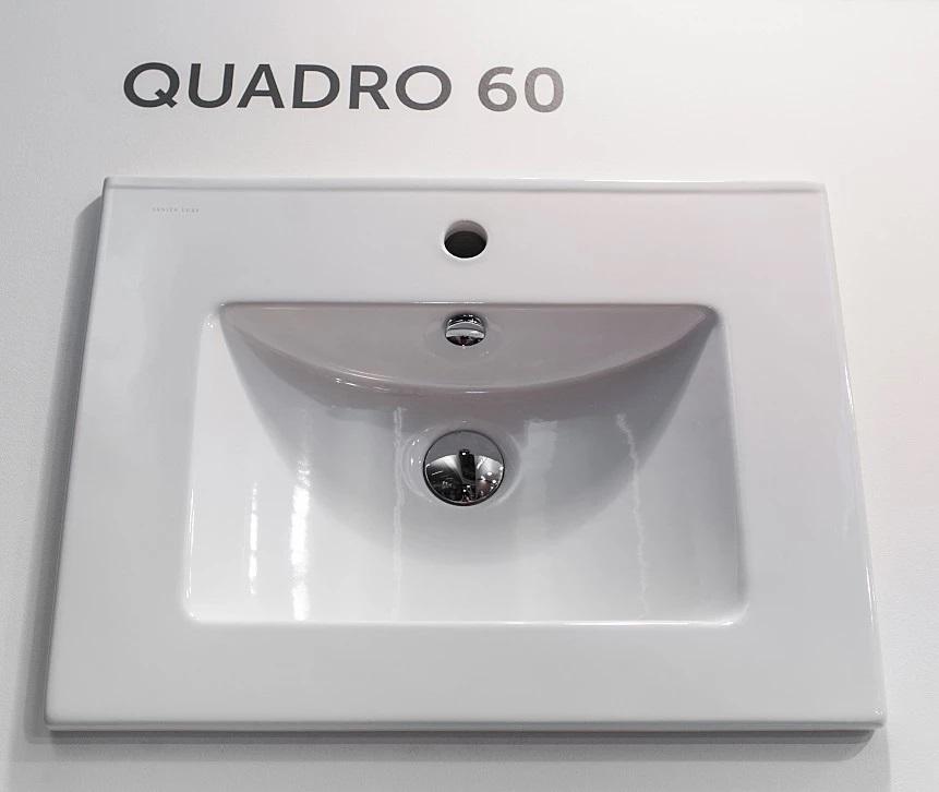 Раковина Sanita Luxe Quadro 60 см