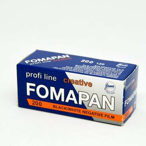 Фотопленка Foma Fomapan 200 Creative /120 B&W