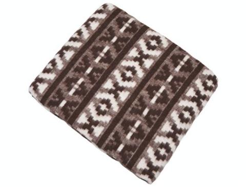 Одеяло полушерстяное Терра коричневый