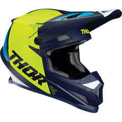 Sector Blade Helmet / Сине-желтый