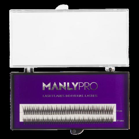 Manly Pro - Ресницы пучковые Manly PRO шелк 10, 12 мм РП09