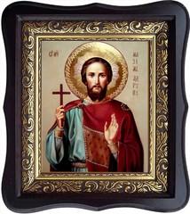 Максим Адрианопольский мученик. Икона на холсте.