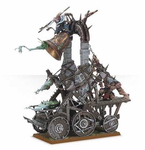 SKAVEN SCREAMING BELL/PLAGUE FURNACE