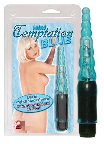 Голубой анальный вибратор - 13,5 см. - Orion You2Toys 05635010000