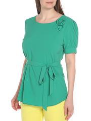 WP6502F-2 блузка женская, зеленая