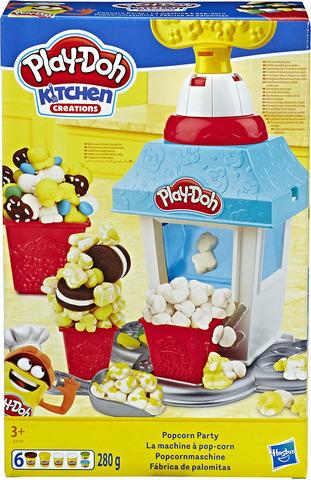 Набор для лепки Play-Doh Попкорн-вечеринка