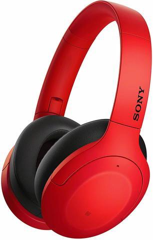 Sony WH-H910NR беспроводные наушники, цвет красный