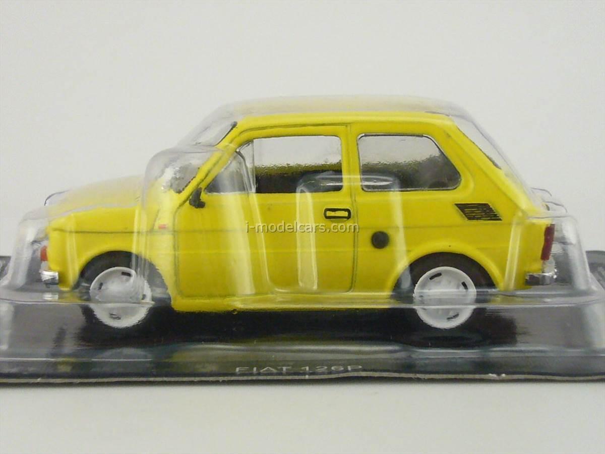 Fiat 126P Nauka Jazdy Blister 1:43 Ixo//Altaya Modellauto