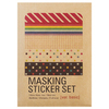Masking Sticker Set Basic (kraft)