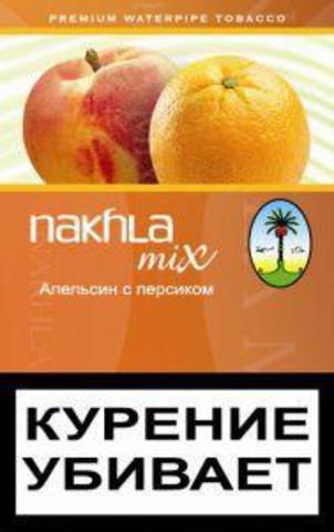 Купить табак для кальяна Nakhla Mix Orange Peach в Москве