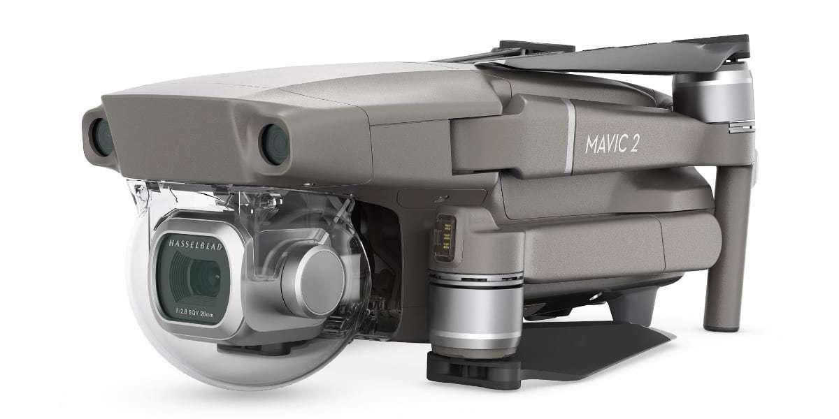 Квадрокоптер DJI Mavic 2 Pro в сложенном виде