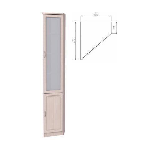 Шкаф для книг, консоль левая (Гарун-208)