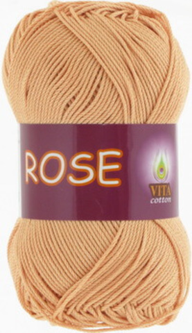 1 моток: пряжа Rose (Vita cotton) 4253 Крем-брюле