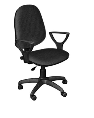 Кресло ПРЕСТЕЙН ткань черная