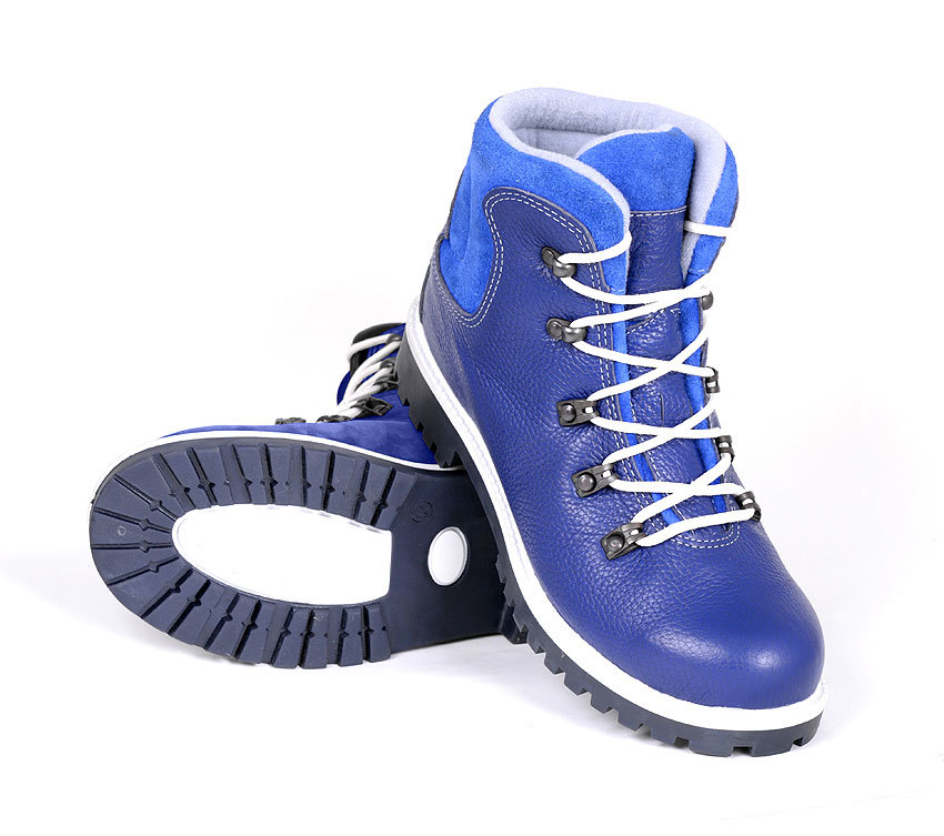 Ботинки TREK Маунт мех /синий