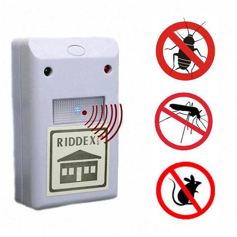 Ультразвуковой отпугиватель грызунов и насекомых Riddex Plus (Ридекс+)