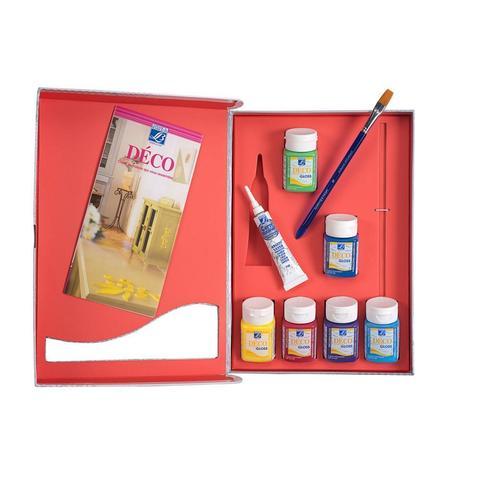 Набор акриловых красок Lefranc&Bourgeois MISS DECO. Матовый (6х50 мл)