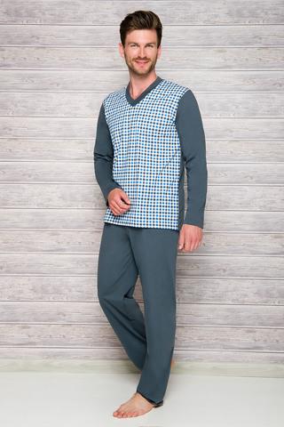 Мужская пижама 7W Roman 004-005 Grey Taro
