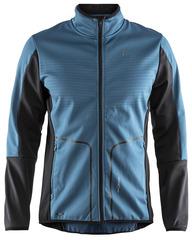Элитная лыжная куртка Craft Sharp Softshell XC Blue мужская