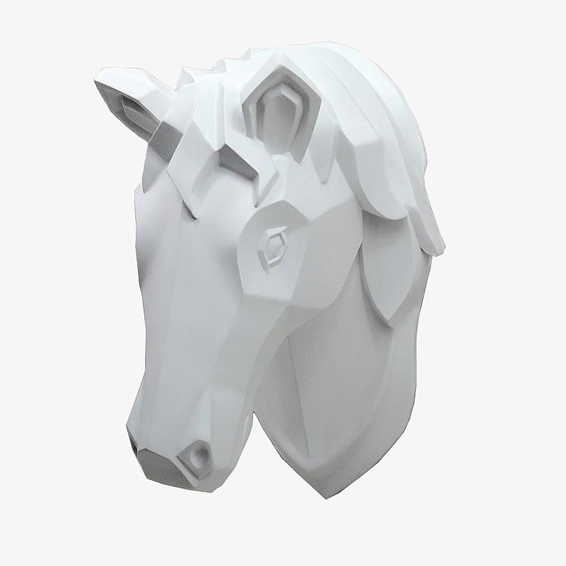 Декор Настенный декор Decor Голова лошади H13S0628 nastennyy-dekor-decor-golova-loshadi-h13s0628-kitay.JPG