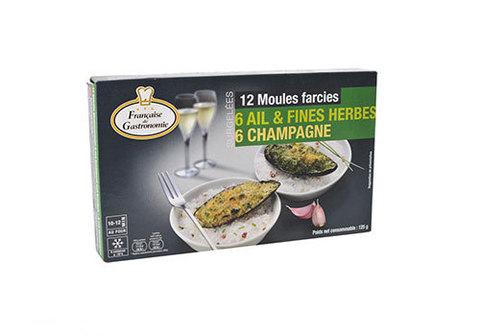 Мидии с травами и шампанским, 125г