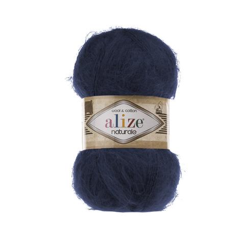 Пряжа Alize Naturale 430 темно-синий