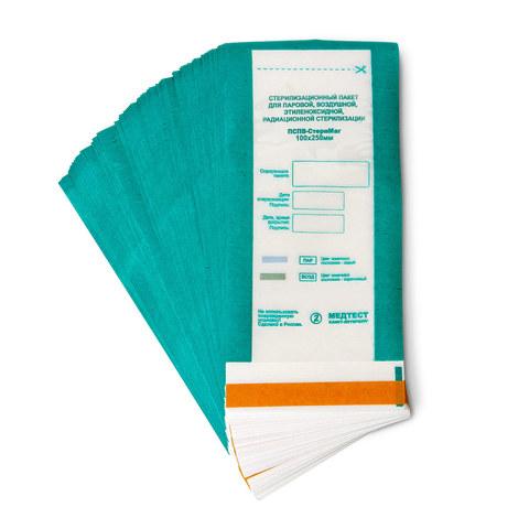 Пакет для стерилизации комбинированный ПСПВ-СтериМаг 100Х250 100 шт