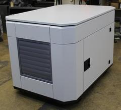 Домик для генератора SB1200DM вид с боку