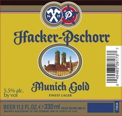 Пиво Hacker-Pschorr Munich Gold