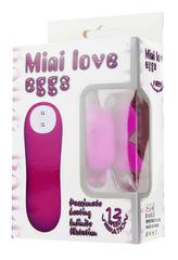 Стимулятор клитора бабочка Mini Love Egg