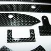 Carbon fiber parts for the Mini Hydro - L450