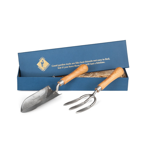 Набор садовых инструментов в подарочной коробке (совок-Kappe, вилка) Sneeboer