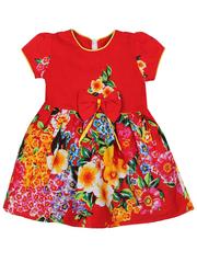 16225-3 платье детское, красное