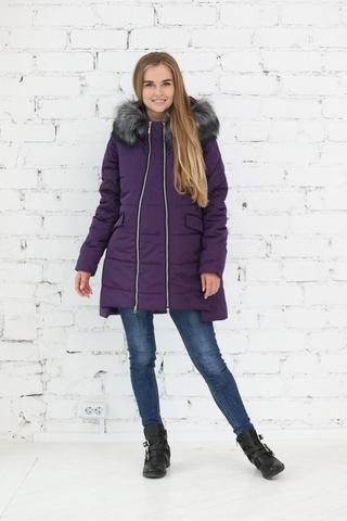 Куртка 2в1 для беременных 10840 фиолетовый
