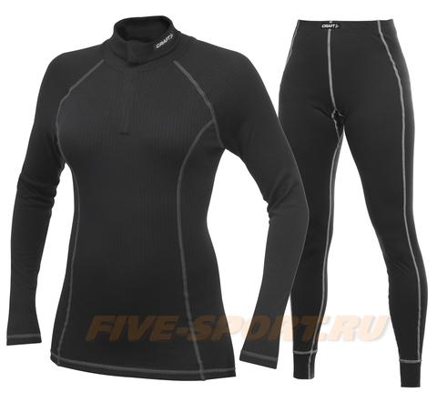 Комплект Термобелья Craft Active женский black Zip