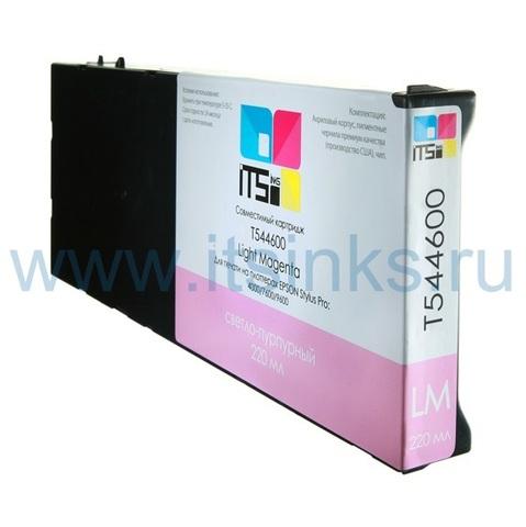 Картридж для Epson 4000/7600/9600  C13T544600 Light Magenta 220 мл