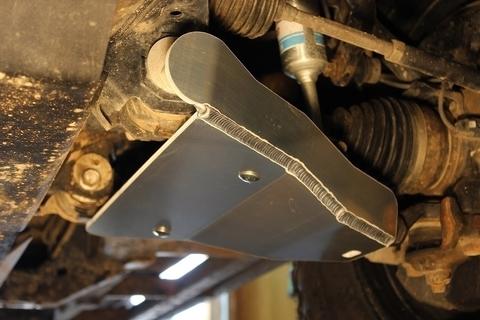 Установка защиты Toyota HiLux фото-3
