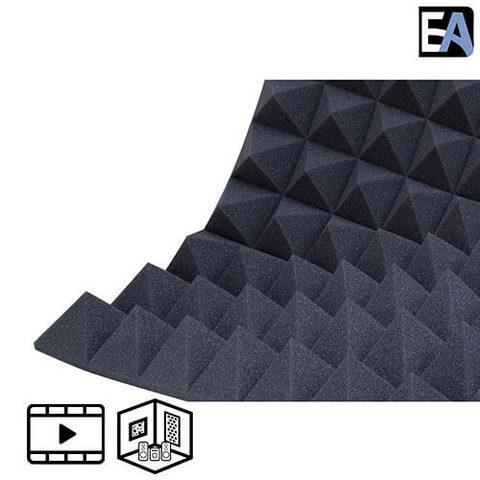 ECHO BLACK Акустический поролон Piramida 100 Чёрный